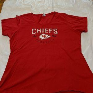 Tops - Kansas City Chiefs T Shrit